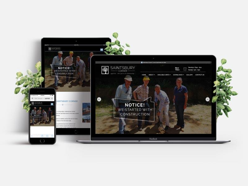 Saintsbury Website